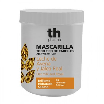 MASCARILLA LECHE DE AVENA Y JALEA REAL TH PHARMA 700ML