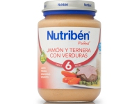 NUTRIBEN JAMON TERNERA VERDURA POTITO JUNIOR 200 G